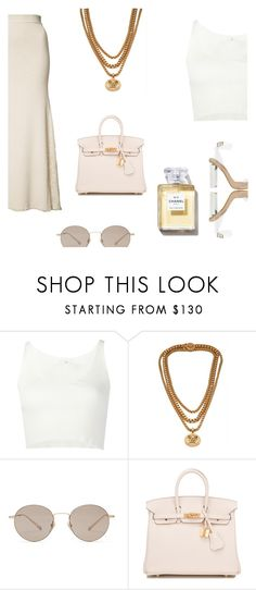 """""""Discover yourself."""" by lucieednie ❤ liked on Polyvore featuring 321, Versace, Gucci, Hermès and Chanel"""