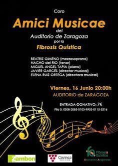 GASTRONOMÍA EN ZARAGOZA: Concierto solidario por la Fibrosis Quística.