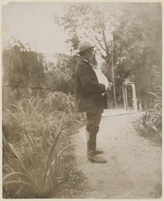 Monet in his Water Garden when he used to Paint Waterlilies, Giverny | MFA for Educators