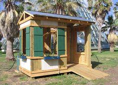 Beach shack playhouse