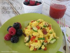How to Make Perfect Scrambled Eggs {And Veggie Egg Scrambles} - The Nourishing Home