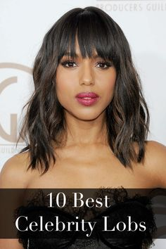 Thinking about getting a lob haircut? Bring these pictures with you to the hairdresser.