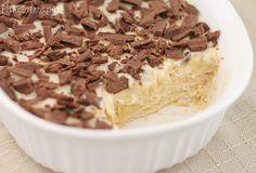 Pavê de Banana com Chocolate ~ PANELATERAPIA - Blog de Culinária, Gastronomia e Receitas
