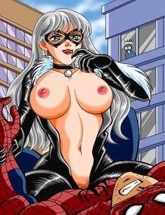 spiderman cartoon porn video