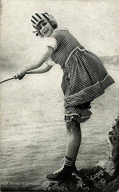 Mack Sennett Bathing Beauties 1914  by Chickeyonthego, via Flickr