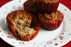 Paleo Banana Muffins with coconut flour.  These are amazing! And easy!  (of course, I added dark chocolate chips)
