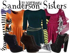 Sanderson Sisters (Hocus Pocus) by Disney Bound