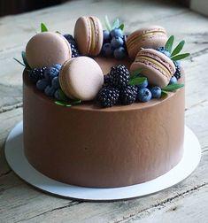 Cake Decorating Designs, Creative Cake Decorating, Cake Decorating Techniques, Creative Cakes, Pretty Birthday Cakes, Pretty Cakes, Cute Cakes, Mini Cakes, Cupcake Cakes