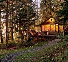 Deer Cabin Reverie : Architectural Digest