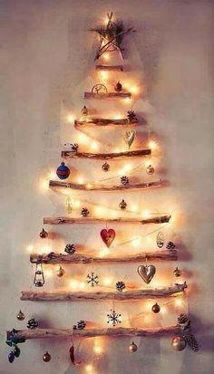 Modern decorative Christmas tree