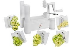 Brieftons 5-Blade Spiralizer Giveaway. The deadline to enter is July 17, 2016 at 11:59:59 p.m. Eastern time.
