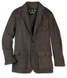 traditional British country shooting jacket courtesy of Barbour