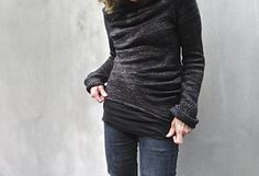 Engineered Seams pattern by Judy Brien- via Ravelry