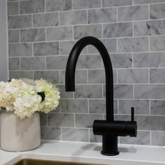 Trendy bathroom black taps the block ideas Downstairs Bathroom, Laundry In Bathroom, Bathroom Renos, Bathroom Interior, Bathroom Black, Bathrooms, Laundry Rooms, The Block Australia, Laundry Room Inspiration