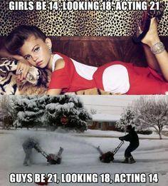 Different Between Girls Boys