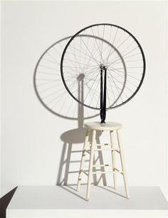 DUCHAMP Marcel, roue de bicyclette, 1913 (1964), MNAM
