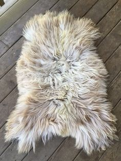 Navajo Churro sheepskin pelt. all natural, luxurious sheep skin rug - perfect for a nursery, rustic home decor, sheepskin pelt projects. Super rare breed with long wool, washable and so so soft. FIVE MARYS FARMS - for sale on our website!