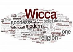 Ancient Path. Quite a nifty word cloud. Wicca. Goddess. Witchcraft.