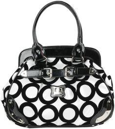 Black and White Chic Mod Circle Bowler Satchel Hobo Handbag: http://www.amazon.com/Black-Circle-Bowler-Satchel-Handbag/dp/B003PFBC0E/?tag=httphomein085-20