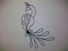 Peacock  Wall Art by ladywelder on Etsy
