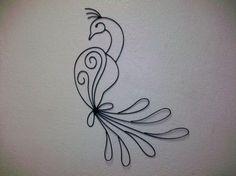 Peacock  Wall Art by ladywelder on Etsy, $45.00