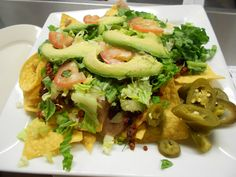 Soyrizo nachos from the Los Gorditos Restaurant in the Pearl District