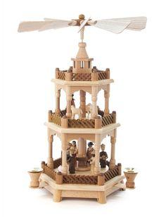 Pyramide 2-stöckig - Mehrstöckige Pyramiden - online einkaufen | Dregeno Online Shop