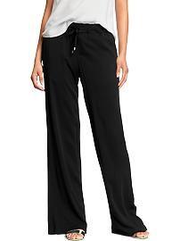 Women's Soft Wide-Leg Lounge Pants