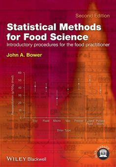 This second edition provides a source text on accessible statistical procedures for the food scientist, and is aimed at professionals and students in food laboratories where analytical, instrumental and sensory data are gathered and require some form of summary and analysis before interpretation.