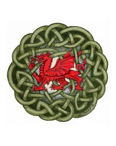 im yn dymuno i chi Hapus Dydd Gŵyl Dewi oherwydd im a merch fach cymraeg da I'm wishing you a happy Saint David's day, because I'm a good little Welsh girl. Celtic Symbols, Celtic Knot, Welsh Symbols, Welsh Tattoo, Celtic Connections, Feather Symbolism, Celtic Cross Tattoos, Saint David's Day, Celtic Nations