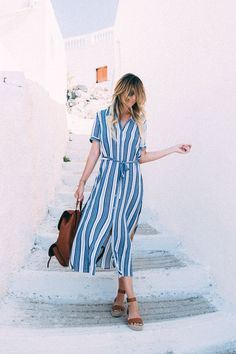 Dash of Darling Shares What to Wear in Pyrgos, Santorini Greece Travel is the movement of people bet Mykonos Grecia, Santorini Greece, Santorini Travel, Grand Designs, New Travel, Travel Style, Travel Fashion, Travel Wear, Travel Attire
