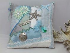 Sea themed door pillow