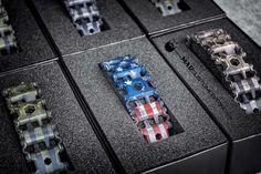 War Torn Stars & Stripes on some @leathermanusa Tread Tools. #cerakoteMADness #WarTorn #Leatherman