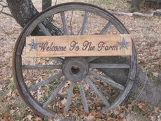 Ranch Welcome Sign - Custom Made To Order