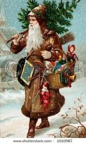 Old Fashioned Santa Claus / Christmas