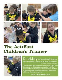 Act Fast, Emergency First Aid, Public Health, Kids Learning, Trainers, Acting, Children, Life, Tennis