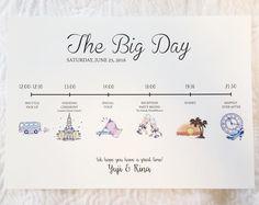 招待状に同封しましょ♡結婚式当日の流れを絵にするペーパーアイテム『タイムライン』デザイン特集♩ | marry[マリー]