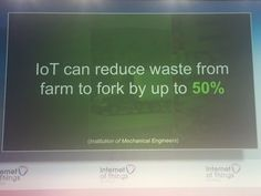 IoT Gurus @iotgurus: @Hitachi_US is showing how #IoT can bring back the food waste by 50%! @breakingsilos #iotworld16 @iotworldnews
