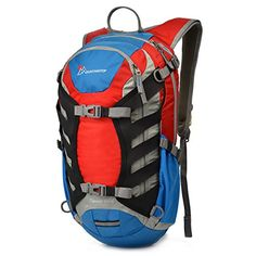 Mountaintop Hydration Pack Hiking Backpack Waterresistant Cycling Backpack for Outdoor Running Bicycle Walking Climbing * Check this awesome product by going to the link at the image.