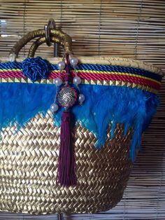 CapazoLanzarote Azul por RosanaMoltoCapazos en Etsy