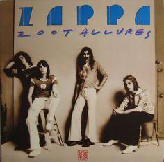 Frank Zappa - Zoot Allures. My favorite Zappa album.