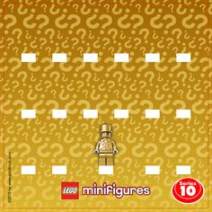 LEGO Minifigures 71001 Serie 10 & Mr. Gold - Display Frame Background 230mm - Clicca sull'immagine per scaricarla gratuitamente!