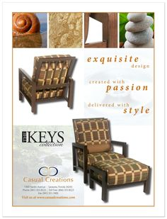 Client: Casual Creations / Project: The Keys Collection Magazine Ad /  Location: Whitfield