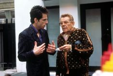 Pin for Later: The Dads and Kids Who Have Been in Movies Together Ben and Jerry Stiller In the comedy classic Zoolander, Ben's dad, Jerry, plays his manager, Maury Ballstein, while his mom Anne Meara also appears.