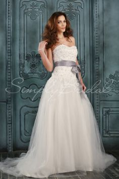Magnolia Gown - #simplybridal #bridal #wedding #bride #gown