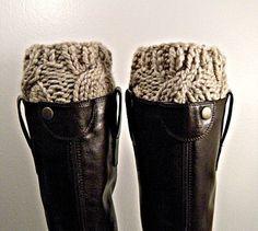 Boot cuffs. The Westcott Boot Cuffs in Cremini