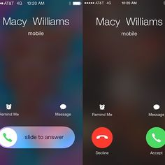 Finally, an Answer to This Annoying iPhone Mystery: If, like me, you're someone who gets uncomfortable talking on the phone, you're probably superthankful for the iPhone's accept/decline button when you get an incoming call.
