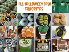 I'm a sucker for anything Halloween.  Especially the cute food.