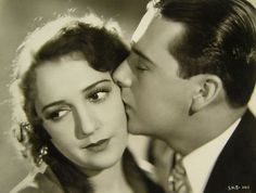 """Bebe Daniels & Ben Lyons in """"Alias French Gertie"""" Classic Hollywood, In Hollywood, Ruby Keeler, Bebe Daniels, Hollywood Forever Cemetery, Rudolph Valentino, Child Actresses, Famous Couples, Hollywood Actresses"""