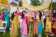 Innovative entry ideas for the Indian Bride   Enter with your girls by your side  Curated by Witty vOWs